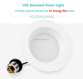 "LED 6"" Down Light 80lm/w Can Light Recessed Retrofit Kits for North American Market"