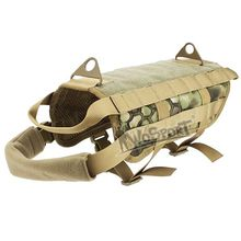 WoSporT Military Tactical 1000D Nylon Dog Training Vest for Hunting Airsoft Paintball Police Training Army Combat