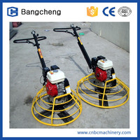 Bangcheng hot sale and best quality concrete finishing power trowel machine for sale double pans