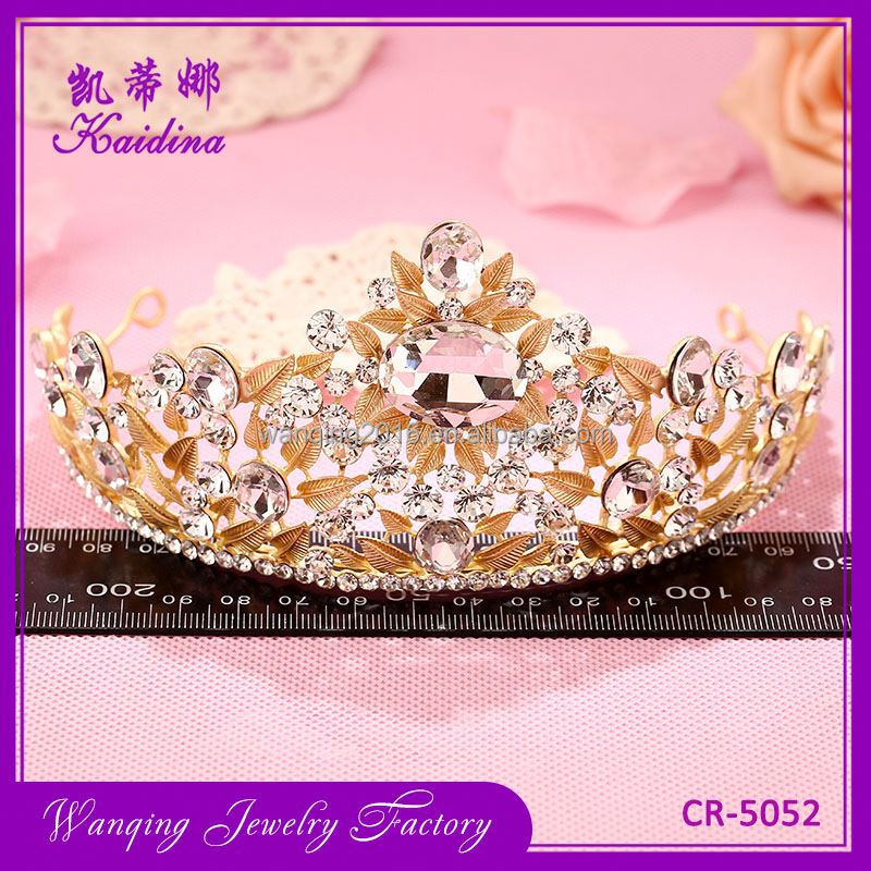Hot selling exquisite boys tiara crown