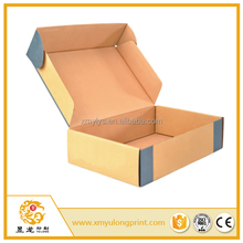 custom color printing airplane box corrugated E flute paper board