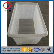 300L Large plastic laundry tub containers with different colors