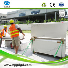Customized lightweight concrete panel for walls