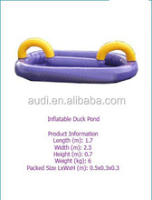 2014 hot sale inflatable duck pond/inflatable games/inflatable sports games
