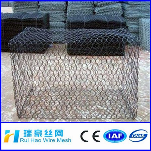 China manufacture Hexagonal Wire Netting/Gabion Box