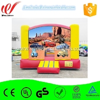 Cartoon themed inflatable bouncer jumping castle W1502