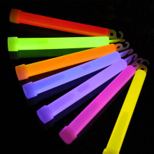 Different color 6 inch glow stick for party light outside glow in the dark