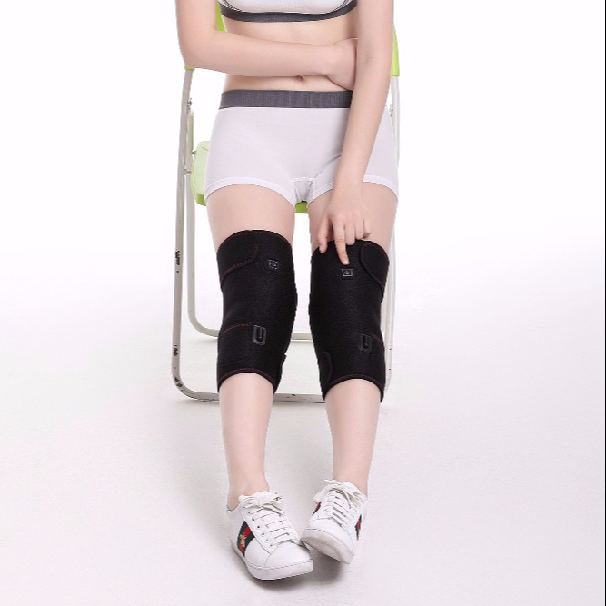 Heating knee wrap, Knee brace strap in high quality, Mode <strong>Massage</strong> (Adjustable Hammer, <strong>Massage</strong>, Kneading)