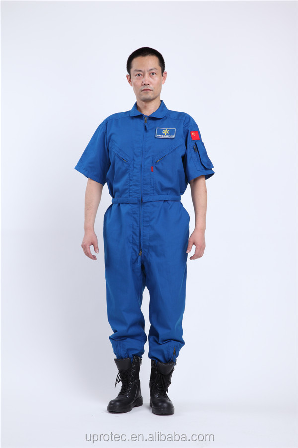 Short Sleeve Blue FR Working Wear