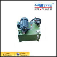 Low noise 0.75kw A230-4 series pressure compensation hydraulic service unit