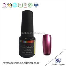 Excellent Quality LAUSHINE Soak Off Mirror Gel Polish OEM and ODM Welcome