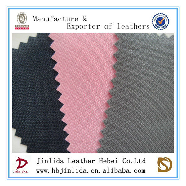 diamond calendering polyester high tensile polyester spandex pvc coated fabric for bags