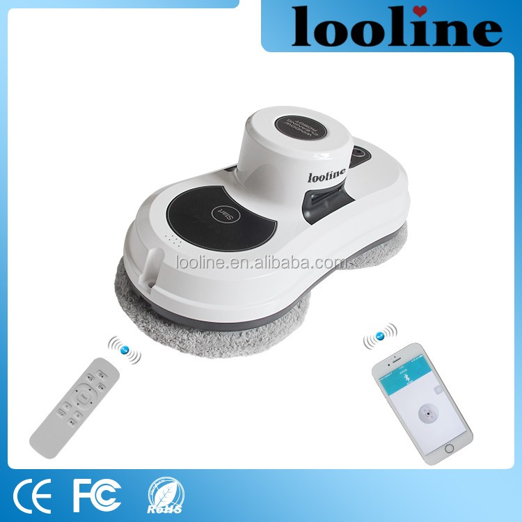 Looline ABS Material National Home Appliances Oil Dirt Cleaning For Smooth Surface Robot Clean Vacuum For Window