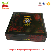 Best Quality Square Carton Saffron Packaging Box With Magnets