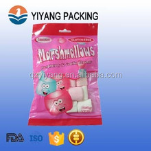 3 side seal marshmallow bag