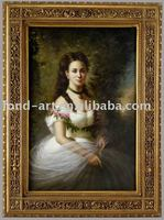 5002 Antique Gold Frame Oil Painting