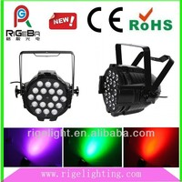 led 4 in 1 RGBW die cast aluminum high power led par can stage light supplier
