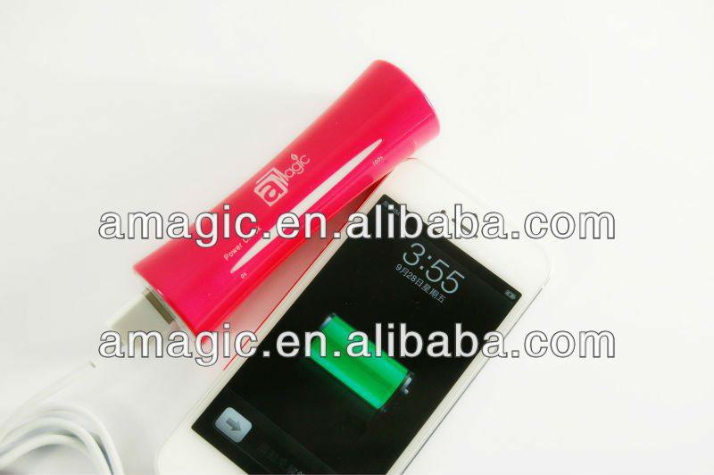 Patented product 2600mAh portable mobile power bank