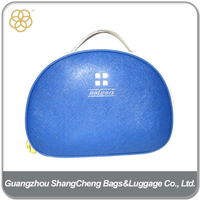 Top Quality Genuine Leather Personalized Make Up Cosmetics Bag