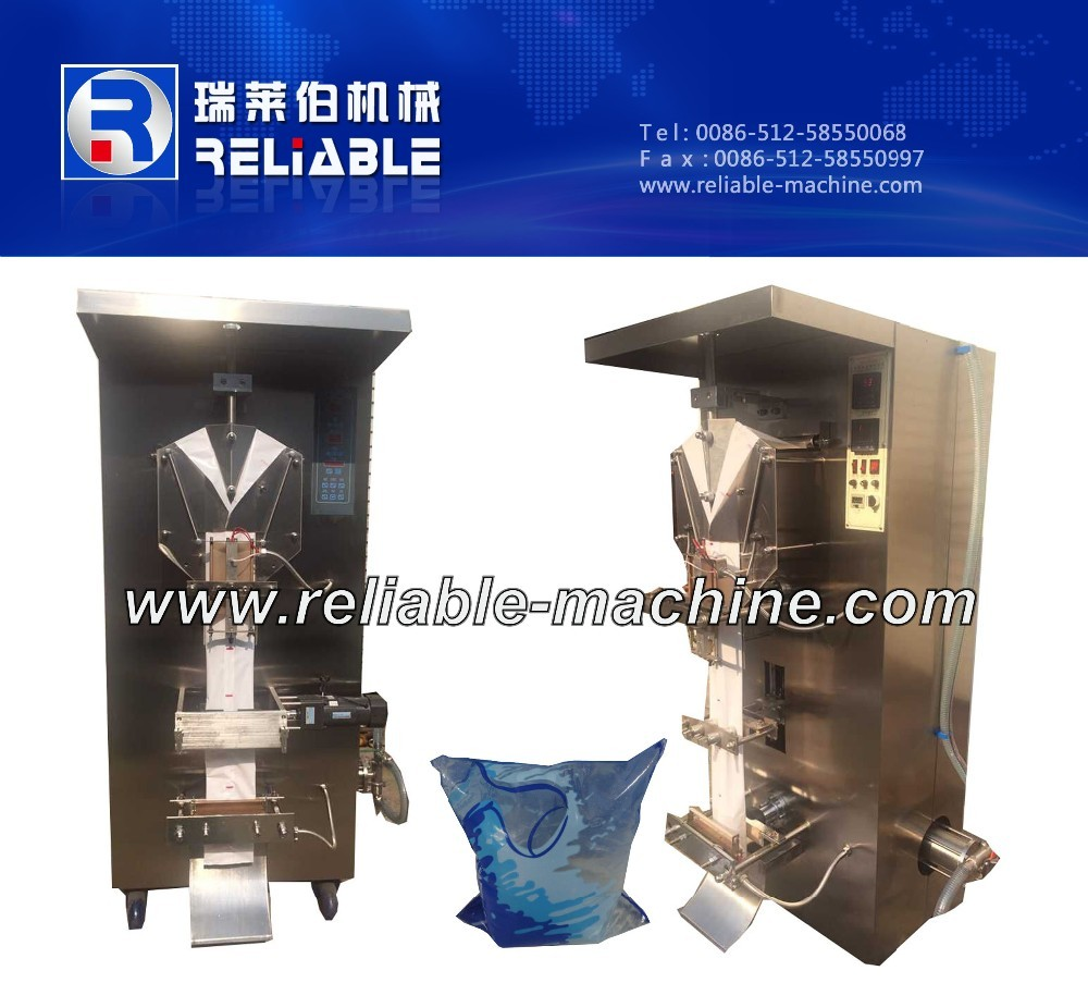 Full Automatic Sachet Water Filling And Sealing Machine For Plastic Bag