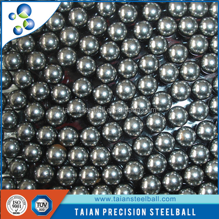 high precision low carbon steel ball small ball for bearing ISO TUV 4.5mm steel ball