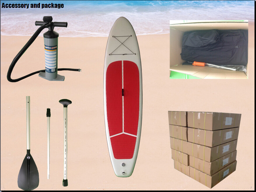 fashion sup inflatable paddle board sup board with CE