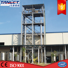 Stainless steel alcohol recovery tower distillation equipment
