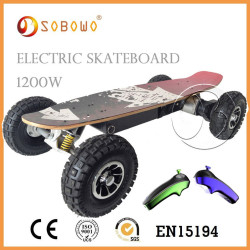 Professional 2015 skateboard wheels electric skateboard CE 1200W E Skateboard