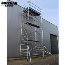 Mobile aluminium scaffold tower/scaffolding platform for sale