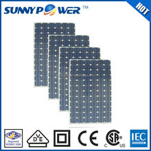 High efficiency 260W mono 150 watt solar panel