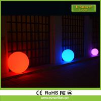 20 cm 25cm 30cm color changing solar floating led pool pond fountain light