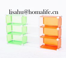 Folded 2013 plastic decorative storage boxes for clothes