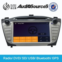 2 Din in-dash car dvd with gps, bluetooth,ipod,usb, sd, tv, radio, multi-language OSD for Hyundai IX35