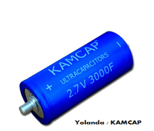 Car jump starting used super capacitor / ultra capacitor 3000F ,2.7V Kamcap