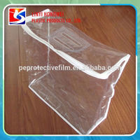 Pvc Clear Plastic Pillow Bag