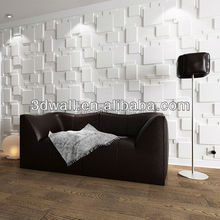 Modern style decorative interior 3d texture wall panel pvc plastic panels for wall