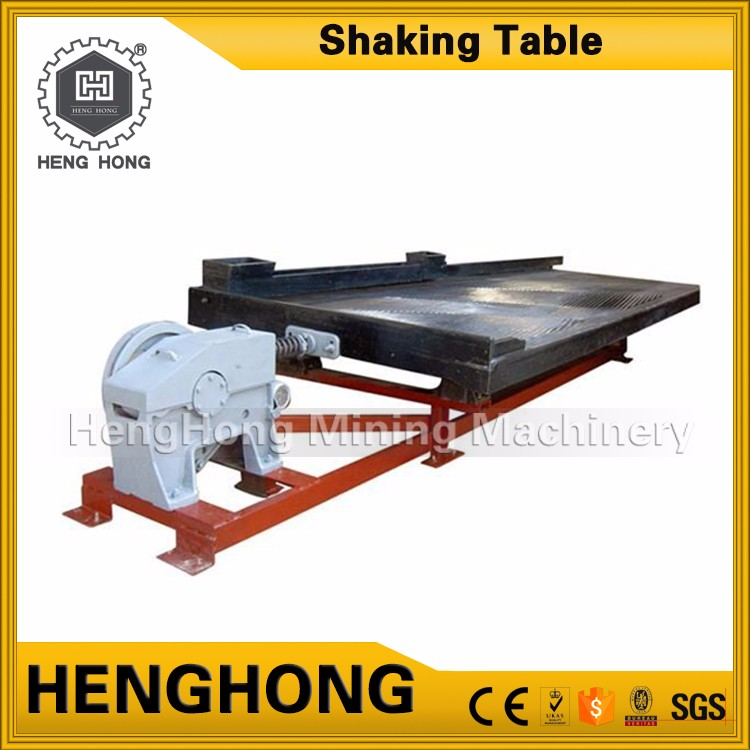 Best selling products complete small gold wash plant mini shaking table for ore dressing separation