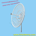 2.4GHz 31dBi Outdoor Directional Point To Point Grid Parabolic Antenna TDJ-2400SPD18-31