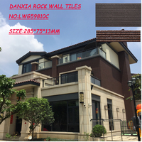 2016 hot style exterior 3d wall and floor tile for villa facade decoration