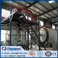 Plastic oil sludge pyrolysis machine made in China