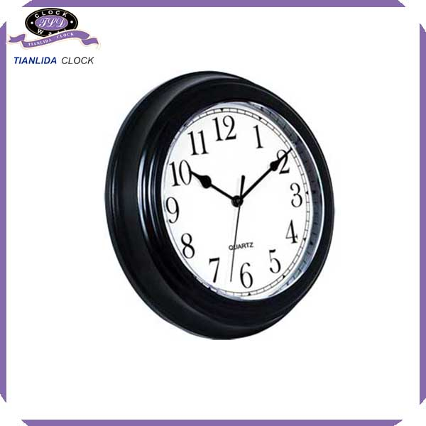 cheap faction plastic wall clock time clock