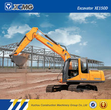 XCMG official manufacturer XE150D 15ton chinese excavator for sale mini excavators for sale in bc