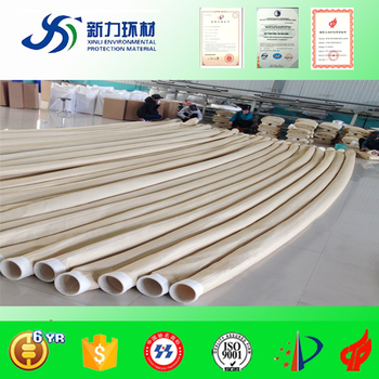 PPS industrial filter bag