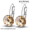 28457 Xuping unique fashion jewelry crystals from Swarovski cherry earrings jewelry