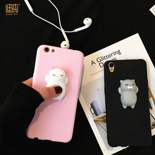 China factory price Soft Squishy cute 3d silicone phone case TPU phone cover for iPhone