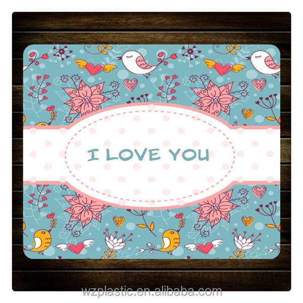 promotion mouse pad with full color/lovely mouse mats