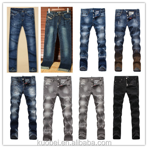 high quality export china guangzhou jeans selvedge denim jeans