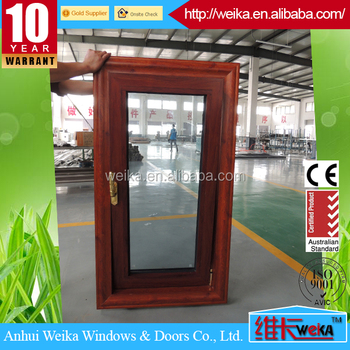 Chinese factory aluminum thermal break tilt and turn window shanghai port