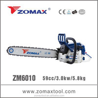 60cc ZOMAX ZM6010 China product hot sale cheap and chinese chainsaw