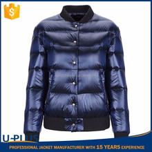 New style bomber down jacket womens for wholesales